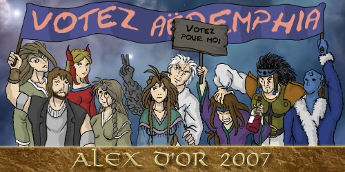 votez aux Alex d'Or