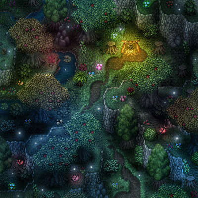 foret map 1